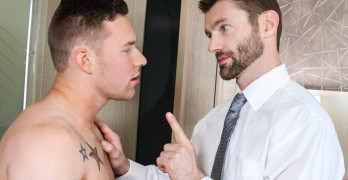 Dennis West Fucks Owen Michaels – Don't Tell My Wife Part 1!