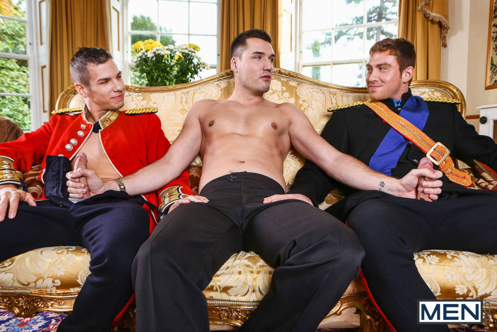 Paul Walker, Connor Maguire and Theo Ford – Royal Fuckfest