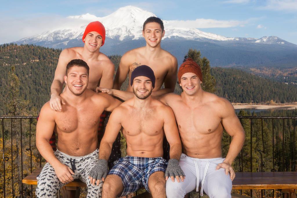 Bareback Weekend Getaway At Sean Cody – Lane, Brodie, Joey, Tanner and Rowan