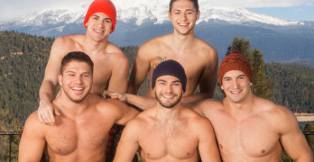 Bareback Weekend Getaway At Sean Cody – Lane, Brodie, Joey, Tanner and Rowan