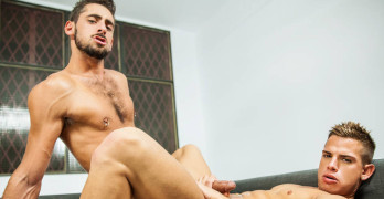 "Brent Everett and Massimo Piano Flip Fuck At Men – ""Inside Brent Everett"""