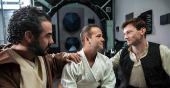 Dennis West Fucks Luke Adams In Gay Porn's Star Wars Parody!