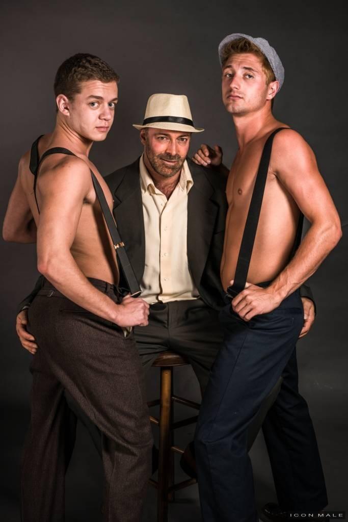 Brad Kalvo, Ian Levine, and JD Phoenix Fucking At ICON Male