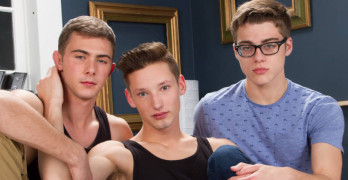 Casey Tanner, Kody Knight, and Blake Mitchell – Twink 3 Way At Helix!