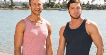 Brandon Fucks Blake Bareback At Sean Cody
