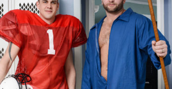 Darin Silvers Fucks Beefy Janitor Colby Jansen In The Closet