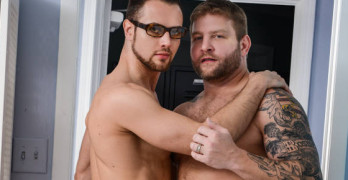 Colby Jansen Fucks Brendan Phillips In The Janitors Closet