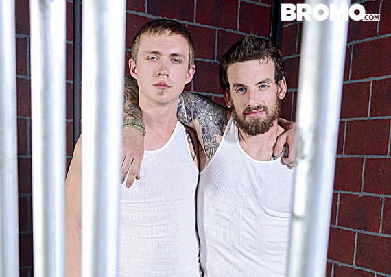 """Rocko South and Zane Anders """"Barebacked In Prison"""""""