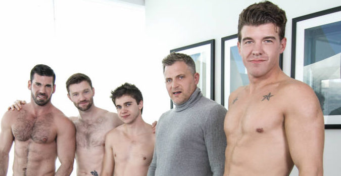 Will Braun's Hollywood Orgy!