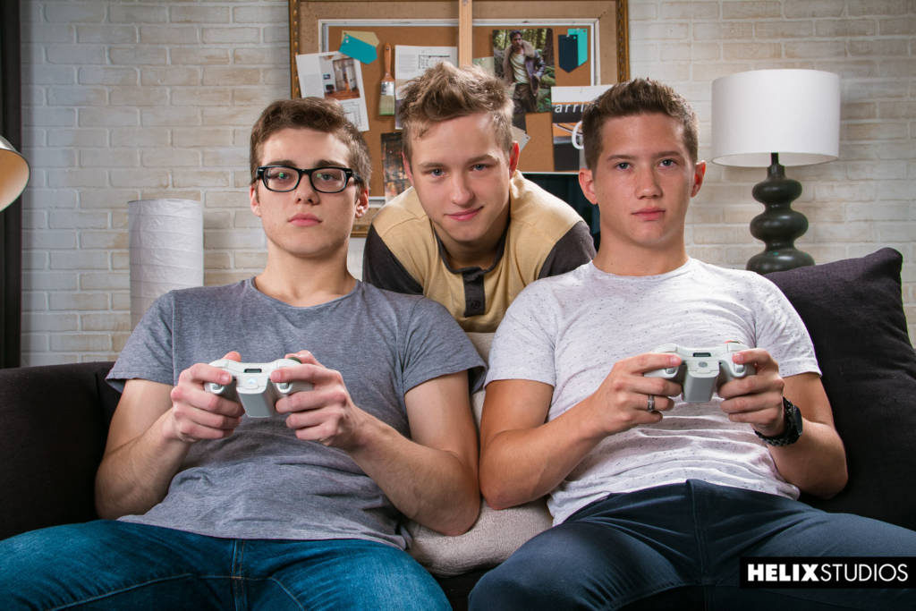 Tyler Hill, Blake Mitchell, and Noah White Hot – Twink Threesome