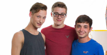Casey Tanner, Blake Mitchell, and Grayson Lange HOT TWINK 3 WAY!