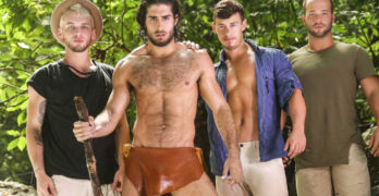 Tarzan Part 3 – Diego Sans ,Tobias, Luke Adams, and Colton Grey