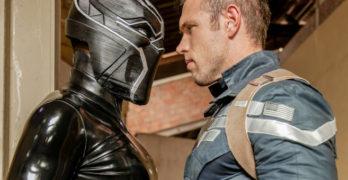 Alex Mecum Vs. Black Panther – Captain America Gay Porn Parody