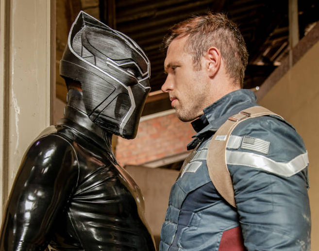 Alex Mecum Vs. Black Panther - Captain America Gay Porn Parody -  MarcDylan.com - Official Website of Porn Star Marc Dylan