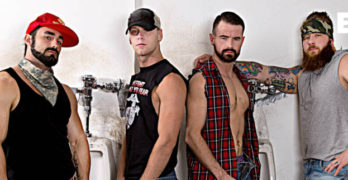 Bareback Rednecks – Jaxton Wheeler, Brandon Evans, Aaron Bruiser, and Brendan Patrick