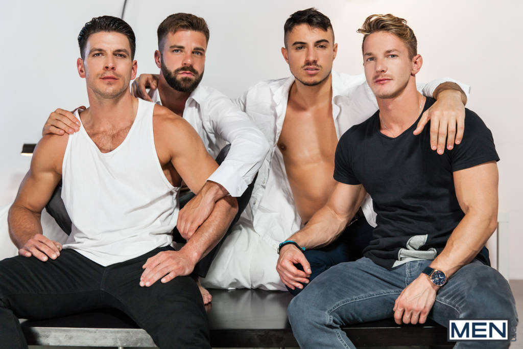 Paddy O'Brian, Darius Ferdynand, Klein Kerr and Hector De Silva's Weekend Orgy