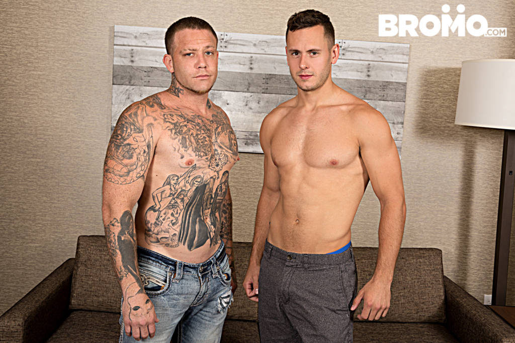 Brenner Bolton Roughed Up and Fucked Raw By Gage Unkut