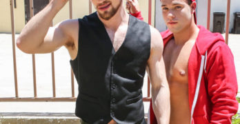 "Kurtis Wolfe Fucks Luke Adams In ""Red Rides"""