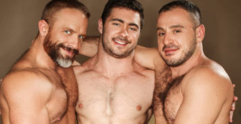 "Dirk Caber, Colton Grey, Derek Bolt, and Marc Giacomo ""Hairy Tales"" Orgy"