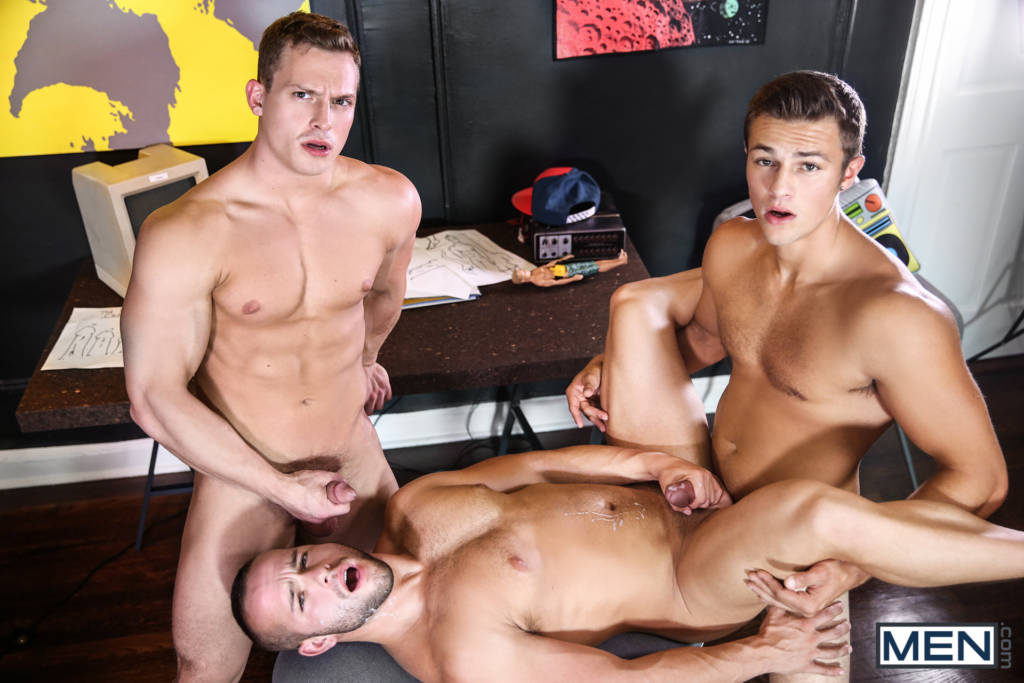 Charlie Pattonson, Tommy Regan, and Luke Adams' Hot Threeway!