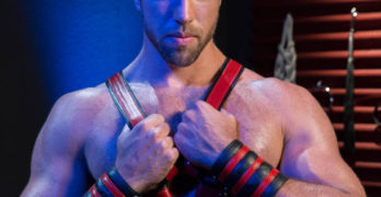 Hung Muscle Hunks Alex Mecum and Sean Zevran Flip Fuck