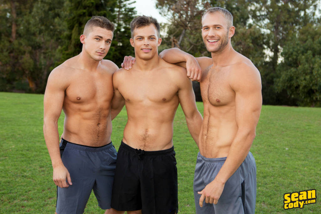 Blake, Jayden, and Porter's Bareback Orgy