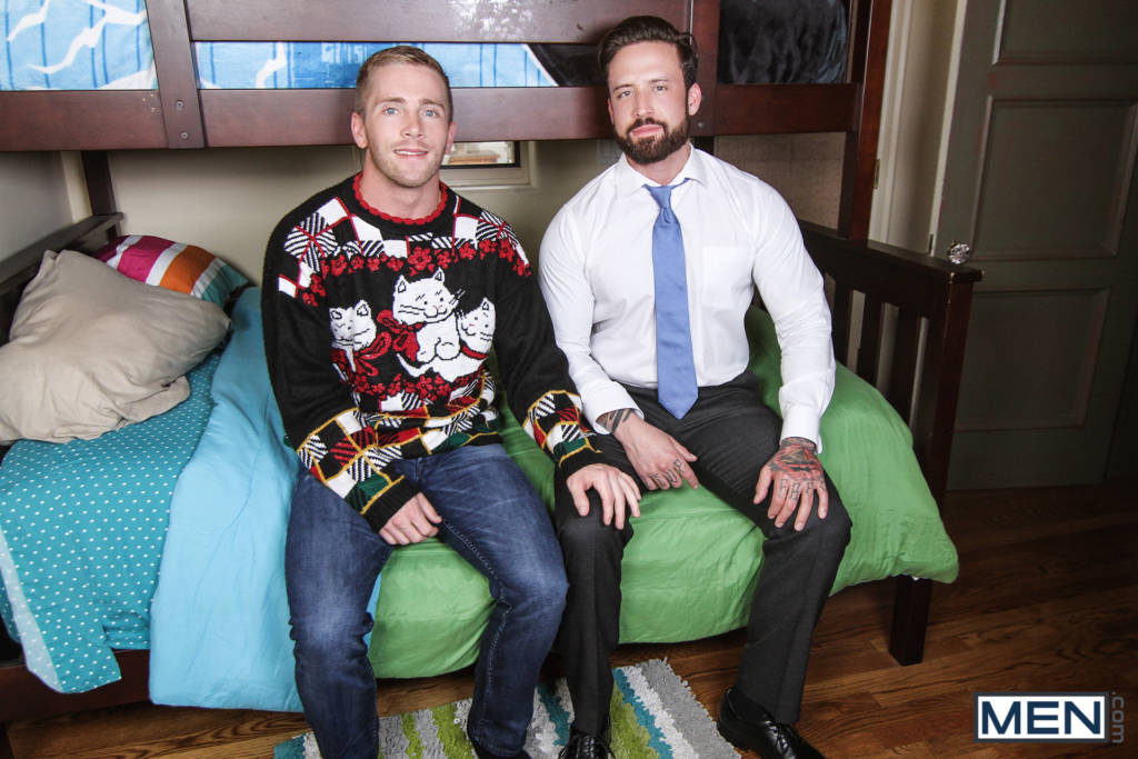 "Jordan Levine and Scott Riley ""A Christmas Fuck"""