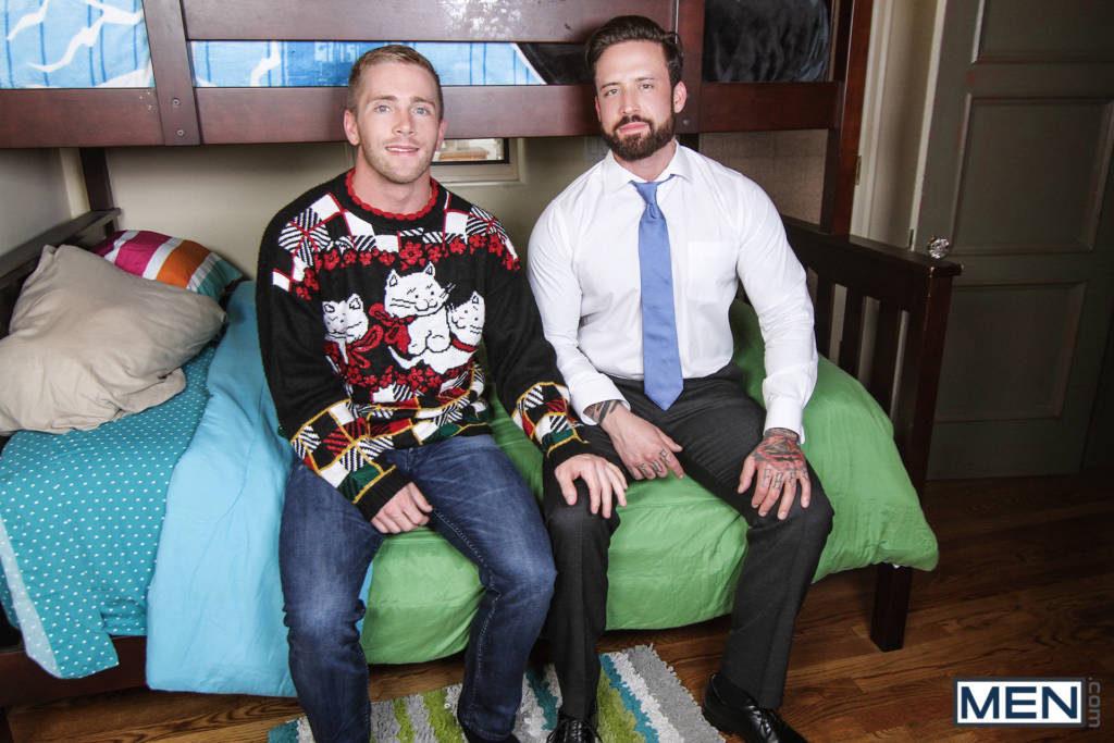 "Jordan Levine and Scott Riley ""A Christmas Fuck"""