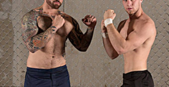 Brandon Evans and Jordan Levine Bareback Cage Match