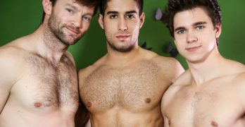 Will Braun, Diego Sans, and Dennis West Have A Fucking Hot Threeway!