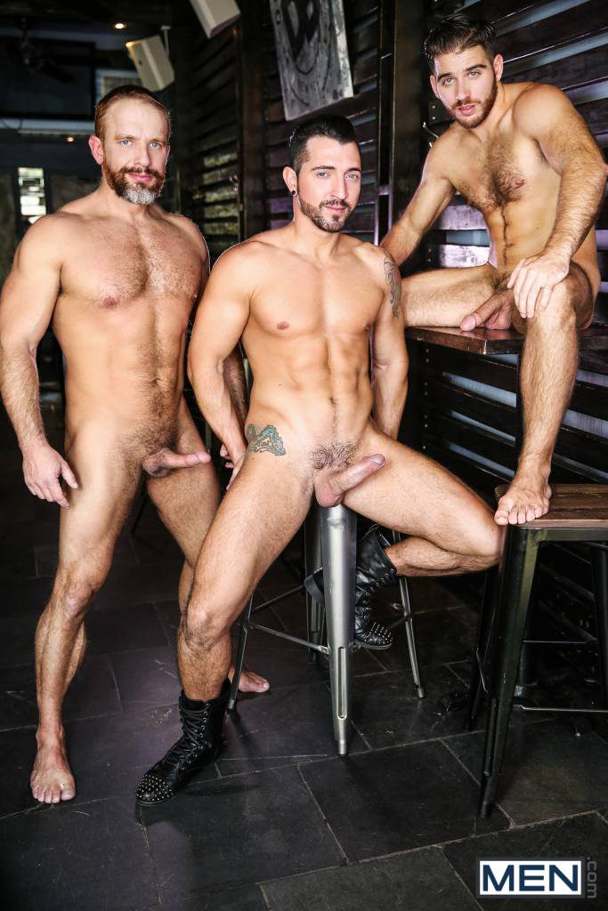 "Dirk Caber, Jimmy Durano, and Jackson Grant ""Hearbreakers"""