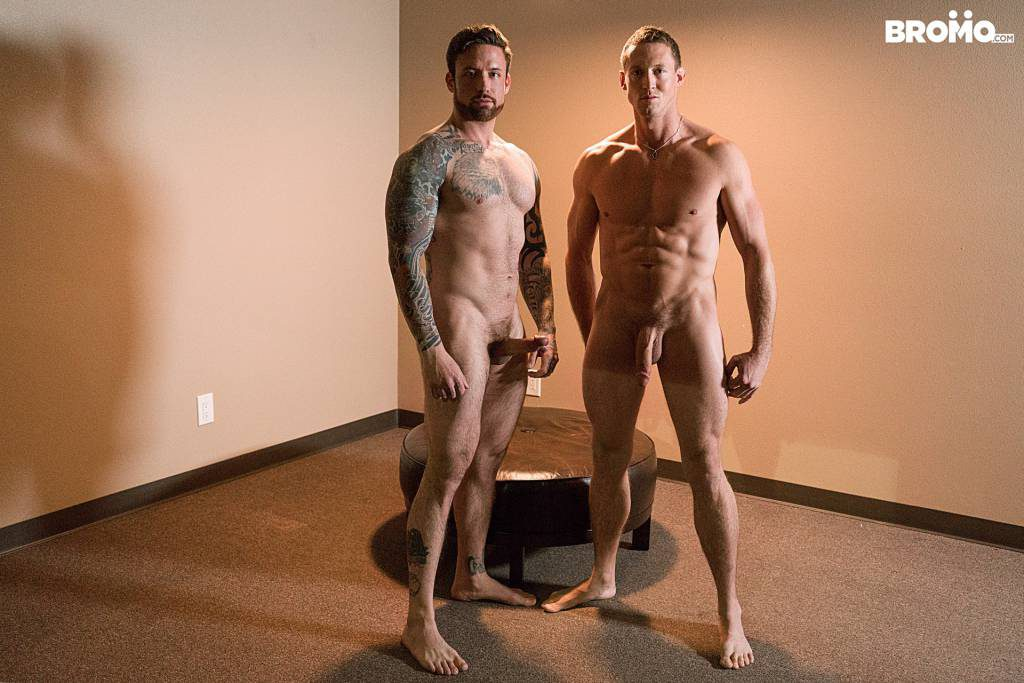"Jordan Levine and Pierce Hartman In ""Raw Capture"""
