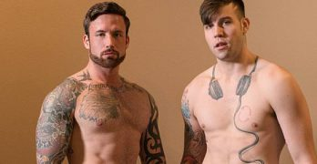 "Buck Richards and Jordan Levine In ""Big Dicked Bitch"""