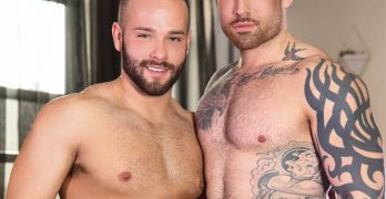 "Luke Adams and Jordan Levine In ""Last Day on Earth"""