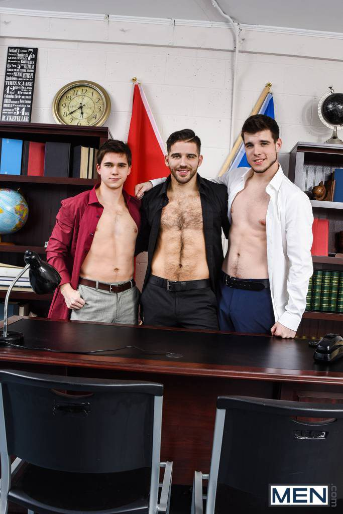 "Will Braun, Noah Jones, and Jackson Grant In ""Textual Relations"""