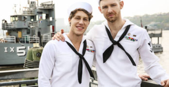 Paul Canon Fucks Jacob Peterson To Celebrate Fleet Week!
