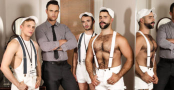ORGY – Teddy Torres, Beau Reed, Ethan Chase, and William Sawyer