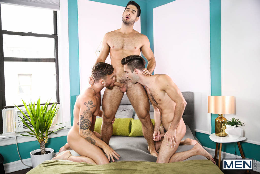 Diego Sans, Ian Frost, and Max Wilde Three-Way!