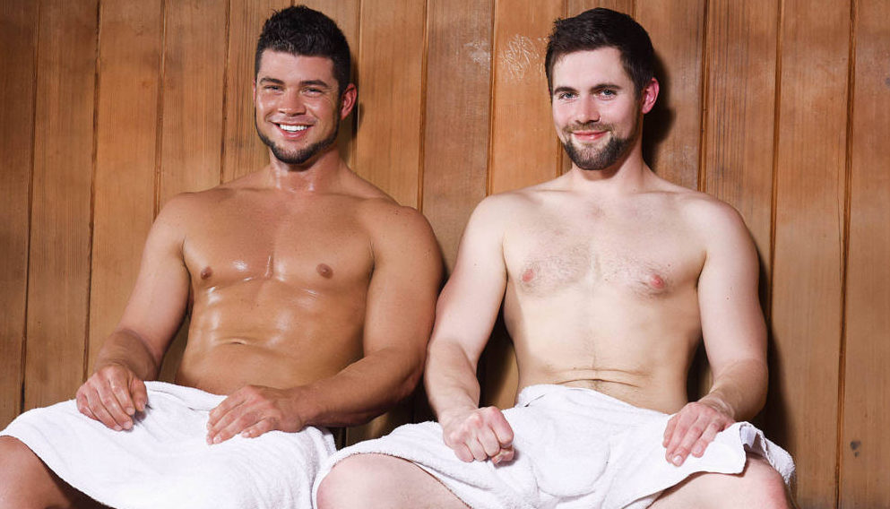 """Griffin Barrows and Brad Banks """"Heating Things Up"""""""