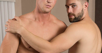 "Pierce Paris Fucks Griffin Barrows Bareback – ""Dippin Balls"""