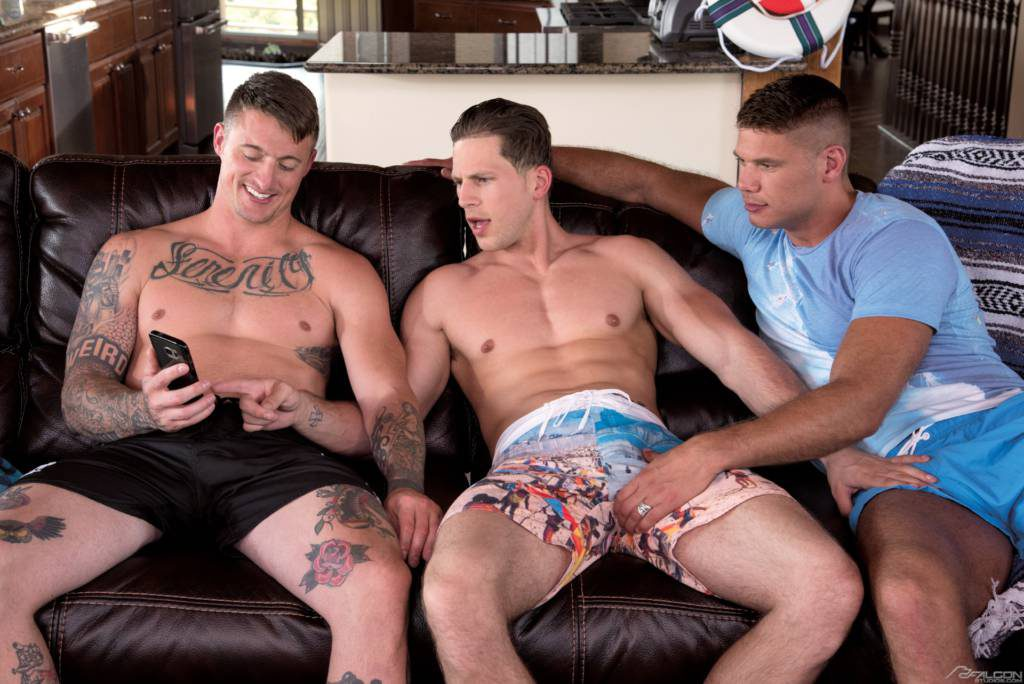"Roman Todd, Dane Stewart, and Tyler Roberts ""Hot Threeway"""