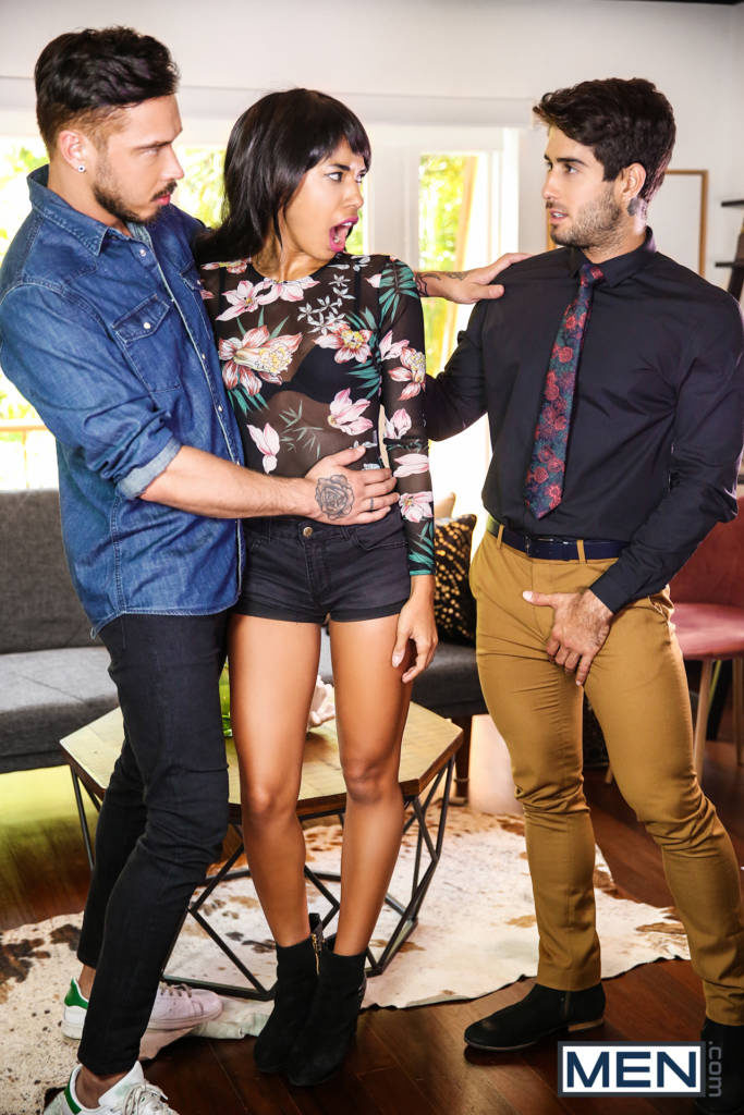 """Diego Sans Fucks Cris Knight In """"Couples Counseling"""""""