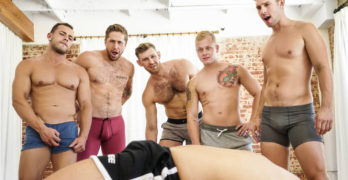 ORGY! Leo Luckett, Wesley Woods, Arad Winwin, Jacob Peterson, Leon Lewis, and Casey Jacks
