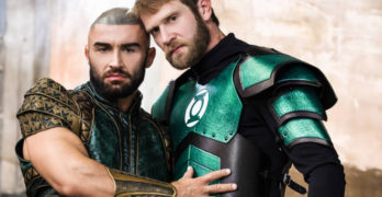 Colby Keller Fucks Gay Porn Superstar Francois Sagat In Justice League XXX