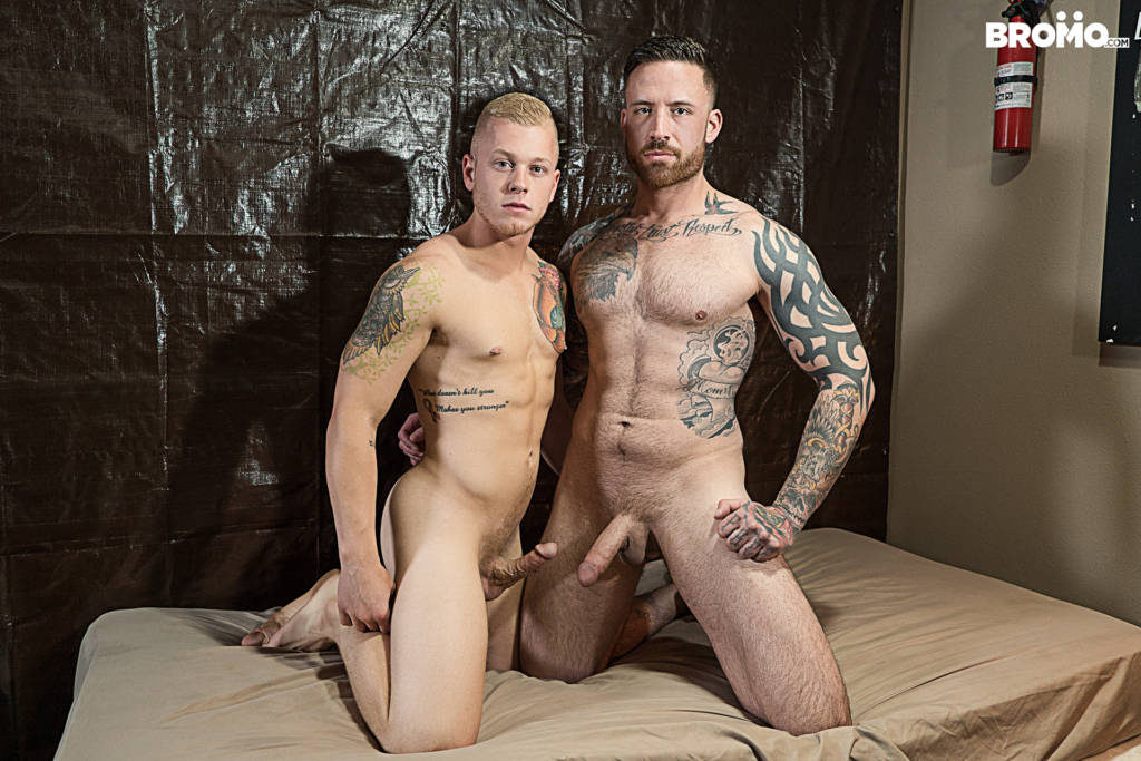 Jordan Levine Fucks Young Blonde Bottom Leo Luckett RAW