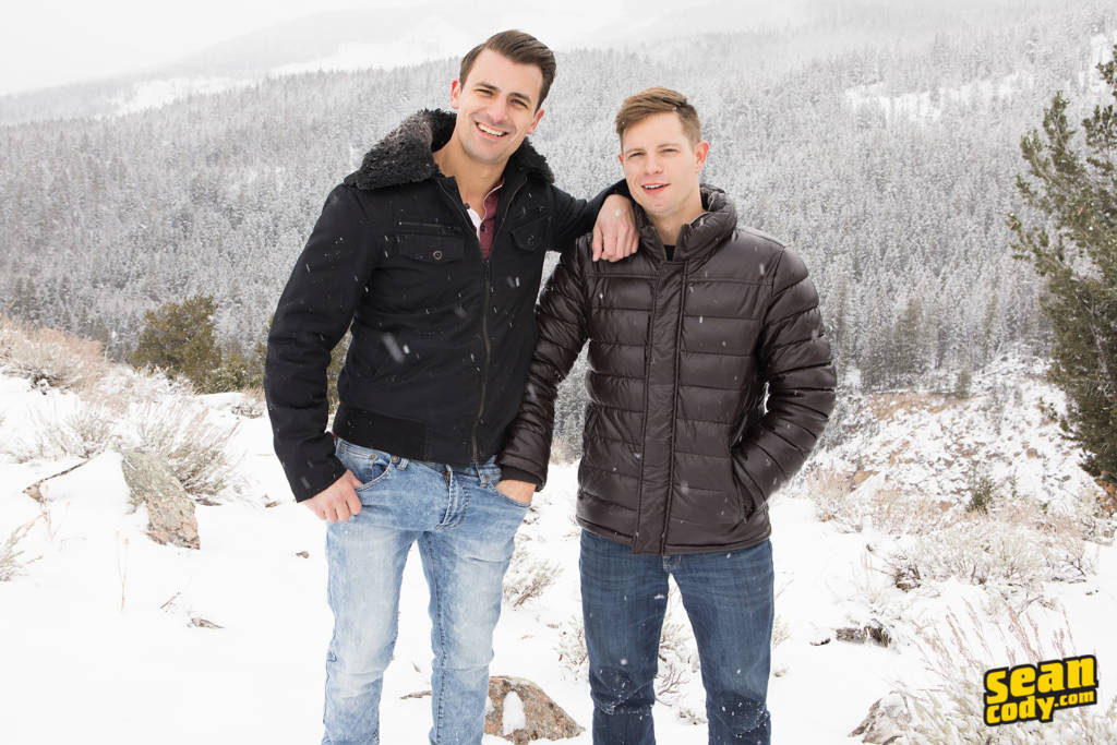 Malcolm Fucks Dean Bareback On Sean Cody's Wyoming Getaway