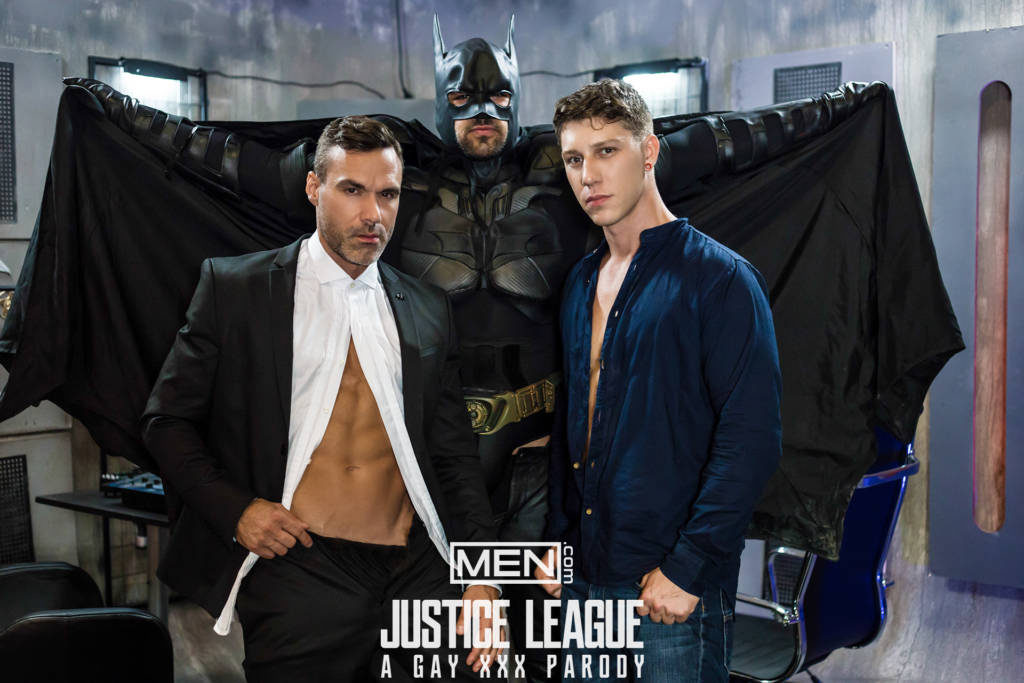 Ryan Bones, Paul Canon, and Manuel Skye – Justice League XXX