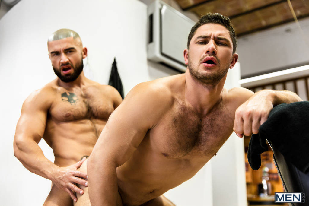 """Dato Foland and Francois Sagat Flip-Fuck In """"Skilled Tricks"""" Part 3"""