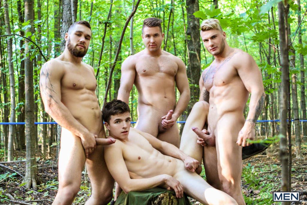 William Seed, Bellamy Bradley, Alex Fortin, and Morgan Blake's Orgy!