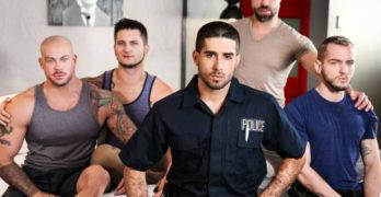 Diego Sans, Tristan Jaxx, Allan Lucas, Colton Grey, and Sean Duran's ORGY